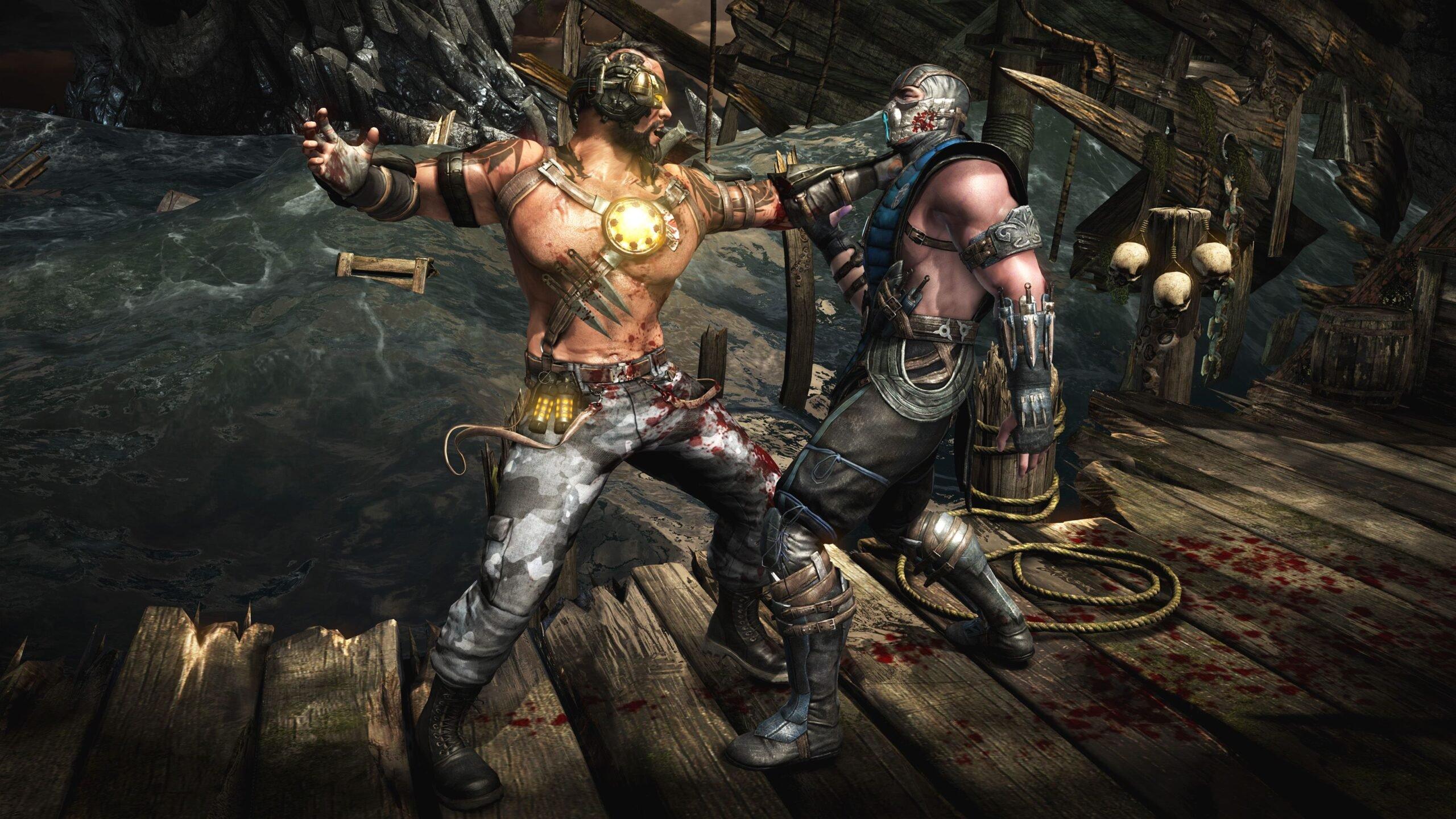 Симулятор убийства Рецензия на «Mortal Combat X»